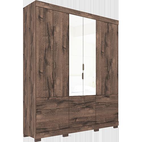 Aracaju 6 portas com Espelho Café
